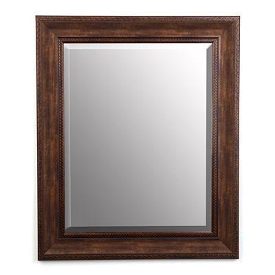 Kirklands Antiqued Gold Mirror 40  H  Bathroom Ideas