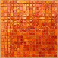 Orange Glass Tile - Bing Images | Mosaic | Pinterest