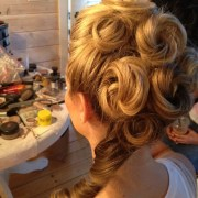 simple victorian updos
