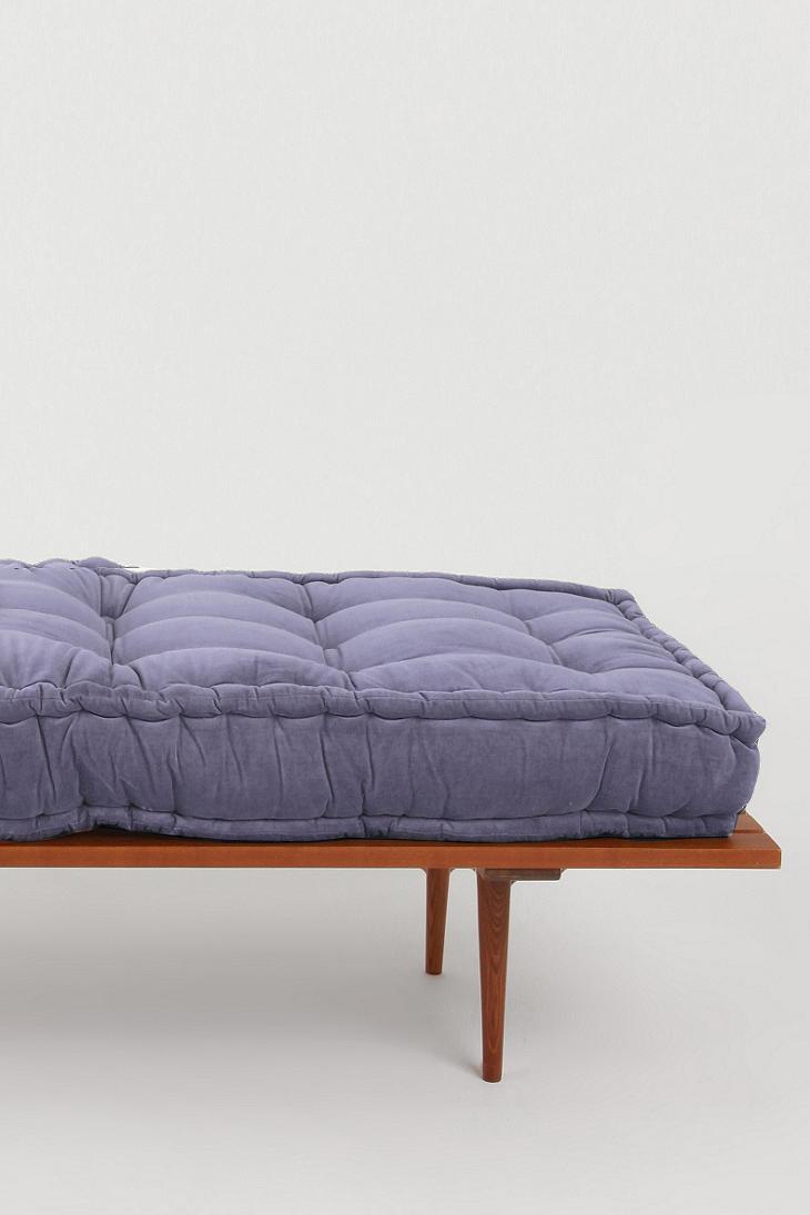 Solid Velvet Floor Cushion