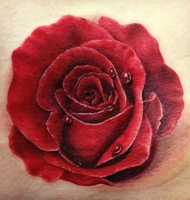 Beautiful Realistic Rose Tattoo  Got Me Inked Up  Pinterest
