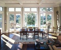 three french doors in living/dining room | Places to eat ...