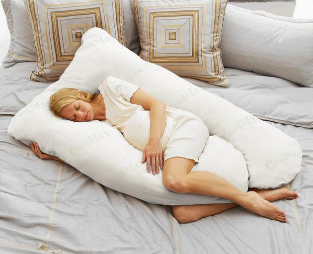 One cool pillow for pregnant women