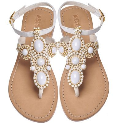 Mystique Sandals Wedding Jeweled Sandals