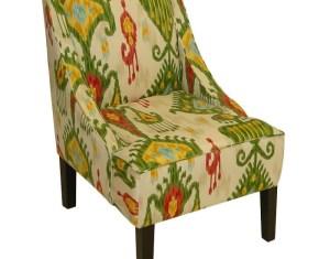 Ikat Arm Chair