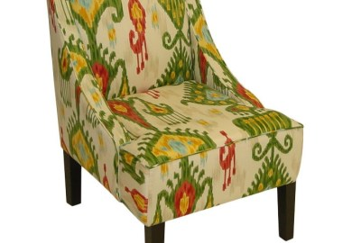 Ikat Arm Chair