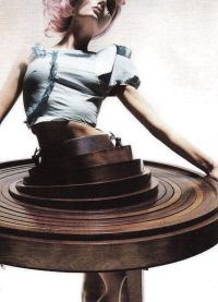 table dress+hussein chalayan | couture. | Pinterest
