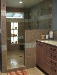 Love the big open shower   Home Ideas   Pinterest