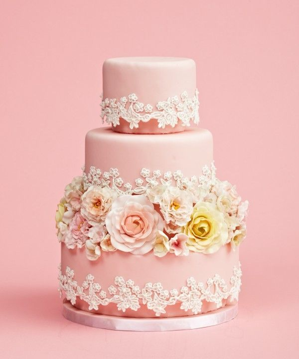 Chic French Wedding Cake