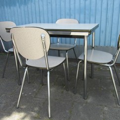 Old Fashioned Kitchen Chair Step Stool Cabinets Images Table And Chairs 1960 | When ...