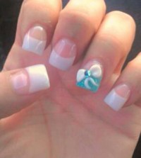 Nails Designs With Acrylic Bows | www.imgkid.com - The ...