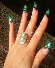 edge nail shape. loving