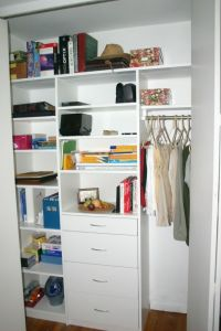 Small Closet Organizer | For the Home | Pinterest