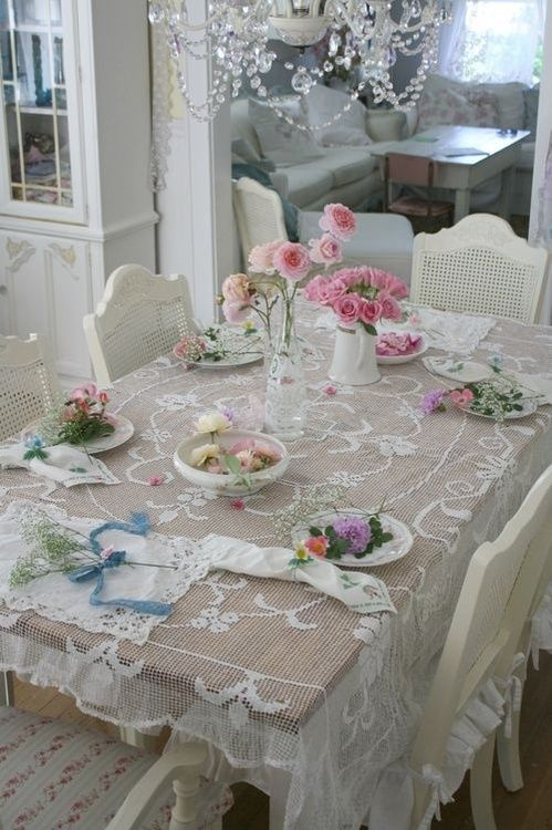 shabby chic table...
