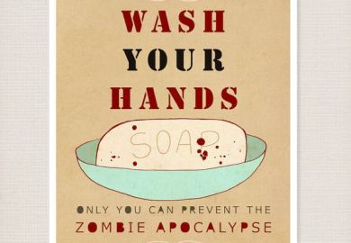 Zombie Bathroom Decor
