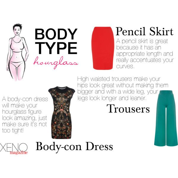 """Dressing For Your Body Type: Hourglass"" by delightoftheyoung on Polyvore"