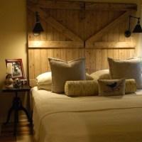 Barn door headboard | Adding Up | Pinterest