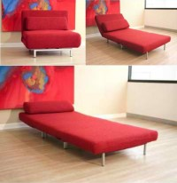Convertible Sofa Chair Bed | Small spaces to live, work ...