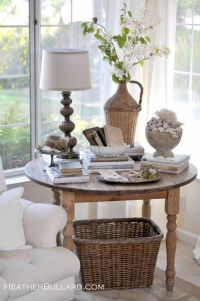 round table decorating | Living Room | Pinterest