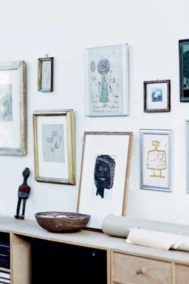 Mocca & Me: HOME TOUR || Art filled Danish apartment