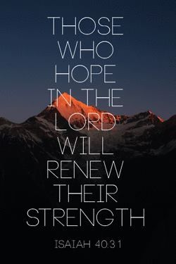 Hope in the LORD, the faithful King. Quotes about #Hope, Hope #Quotes, #HopeQuotes, Uplifting Quotes, Inspiring Quotes, Inspirational Quotes