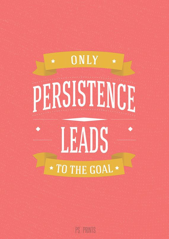 Sayings About Persistence