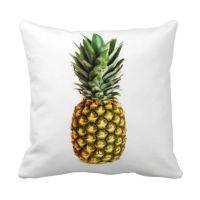 Pineapple print throw pillow | Pineapple | Pinterest
