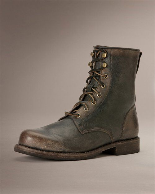 Wayde Combat - View All Men's Boots - Western Boots, Harness Boots,  More - The Frye Company