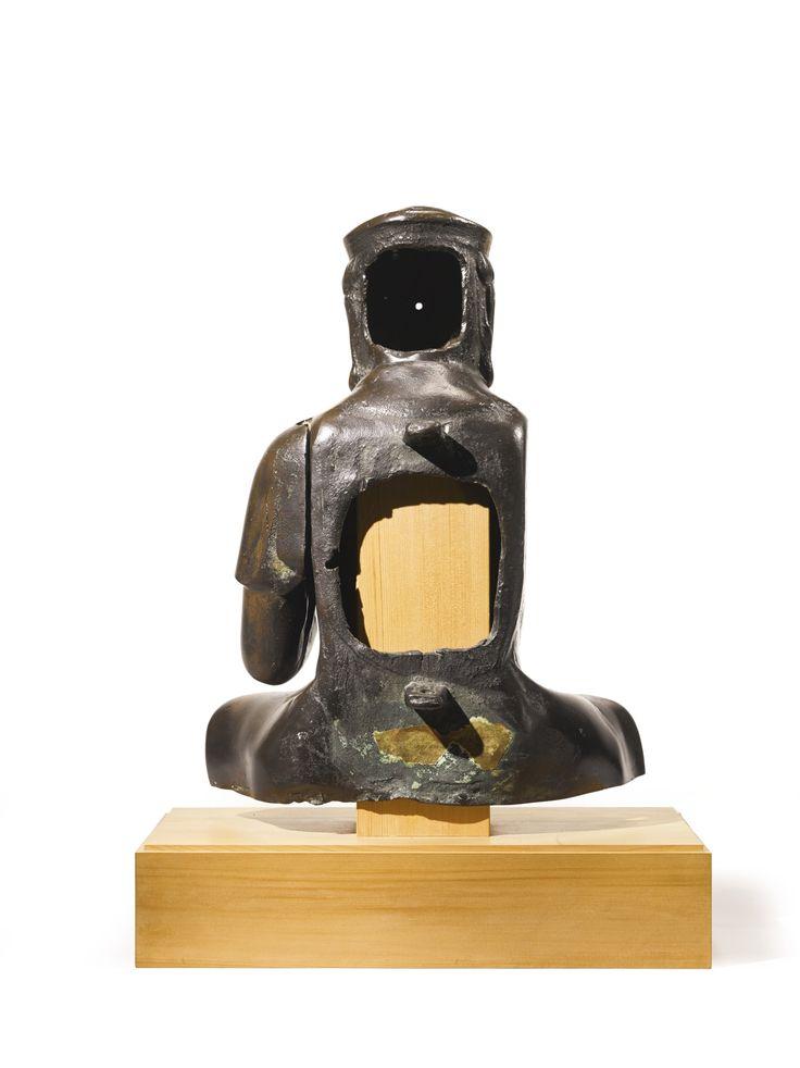 A BRONZE FIGURE OF EKADASHAMUKHA LOKESHVARA<br>JAPAN, 14TH CENTURY | Lot | Sotheby's