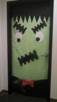 Halloween office door decorations | Fall | Pinterest