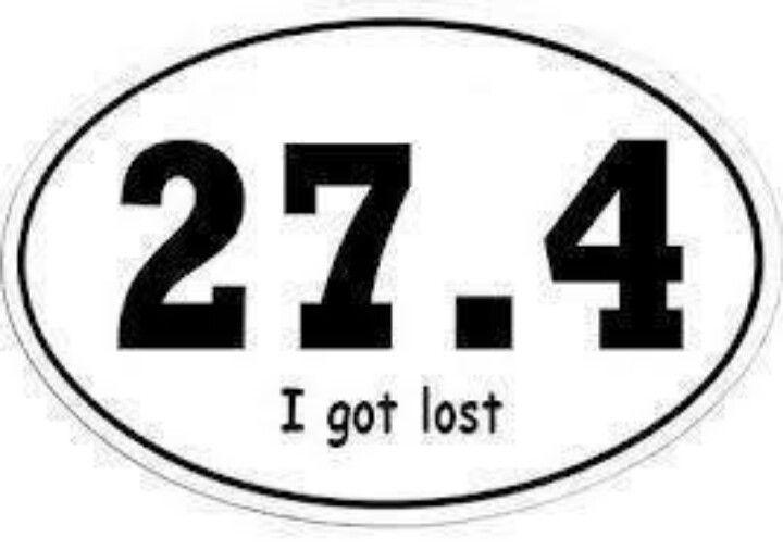 Lost runner