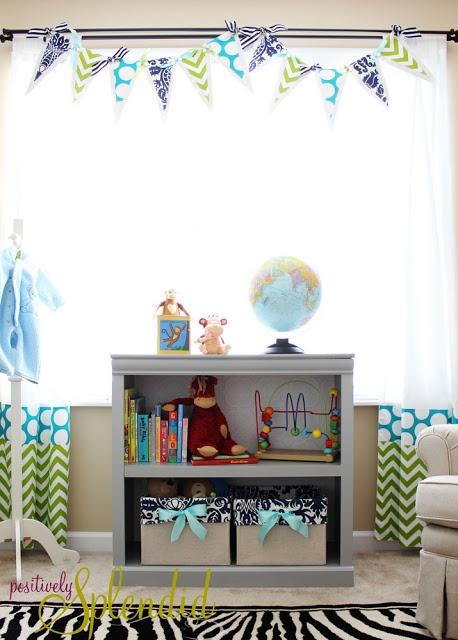 Ruffled Crib Skirt Tutorial {Nursery Bedding Reveal}