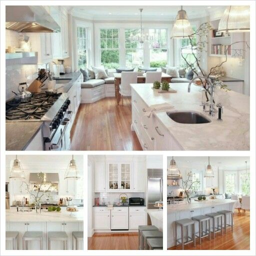 Would love to wake up every morning and fix breakfast in this kitchen! #dreamkitchen