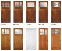Craftsman Style Doors | Craftsman Exterior | Pinterest