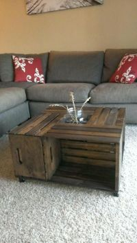 Apple Crate Coffee Table- Made to order