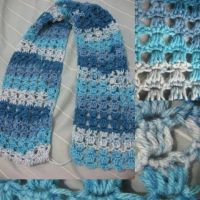 Diy Angel Stitch Crochet Scarf Tutorial | crochet | Pinterest