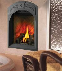 Direct vent fireplace for a small space | interiors ...