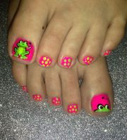 frogs nail art hair and nails