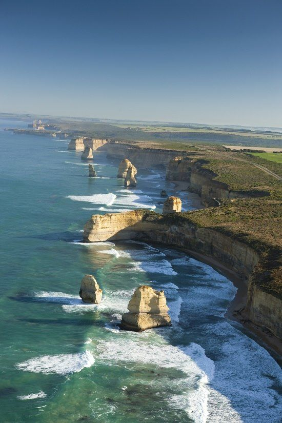 The Twelve Apostles, Great Ocean Road, Australia -- Find great travel deals & discounts on http://www.studentrate.com/studentrate/School/Deals/Travel.aspx #travel #world #trips #vacation