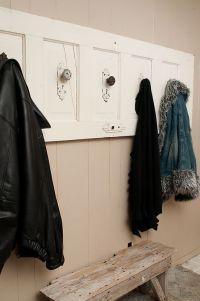 old door / coat rack | Furniture Ideas | Pinterest