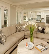 Room Transition ~ kitchen-living | Open Floor Plans & Room ...