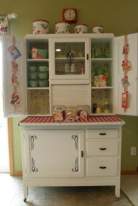 Vintage Hoosier Cabinet | Cabinets:Dressers:Chests | Pinterest