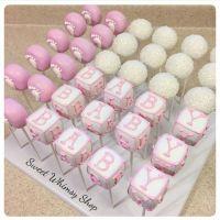 Baby Shower Cake Pops | Baby Shower & Gender Reveal ...