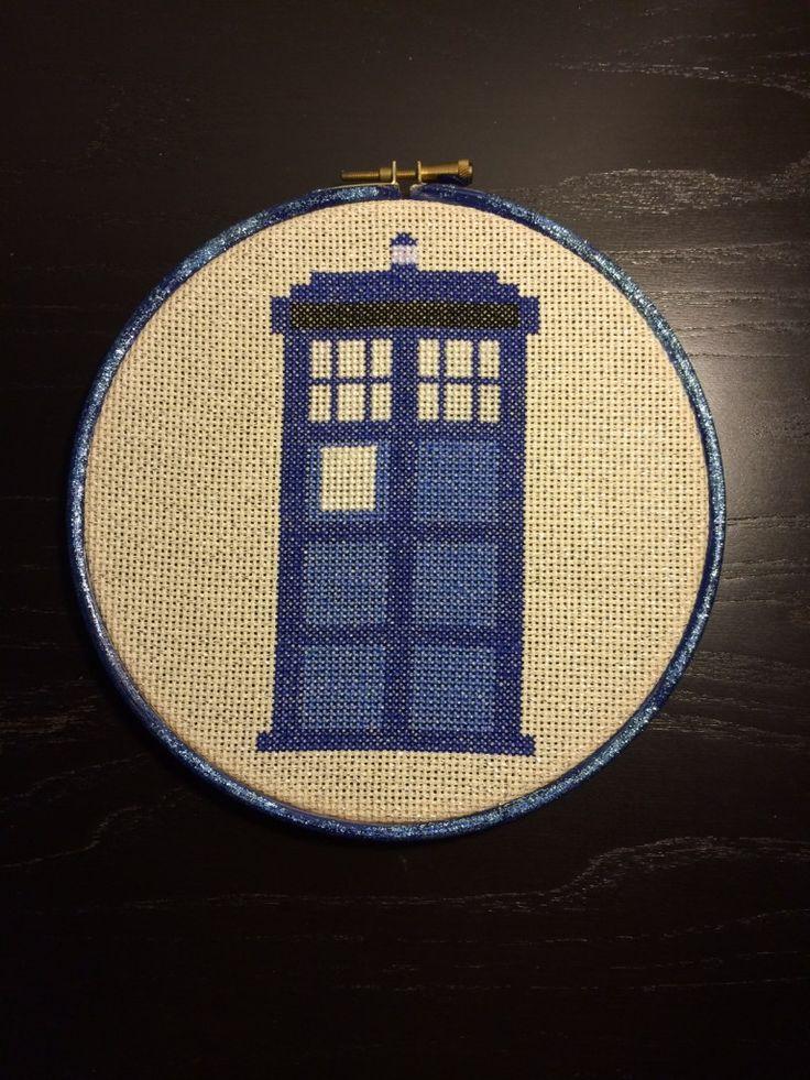 #Tardis Cross Stitch pattern from @Albion Atlantis Gould