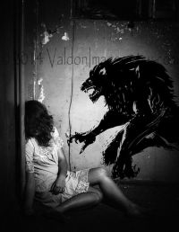 Werewolf vinyl wall decal, lycanthrope, home decor ...