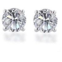 Tiffany Diamond Stud Earrings