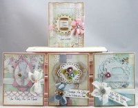 Shabby Chic Cards   Paper Crafts   Pinterest