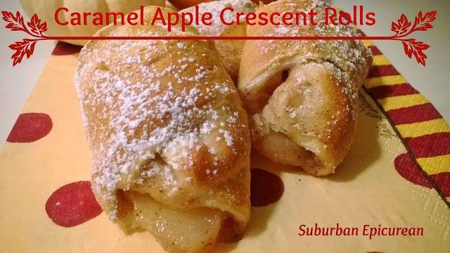 caramel apple crescent rolls favorite recipes pinterest
