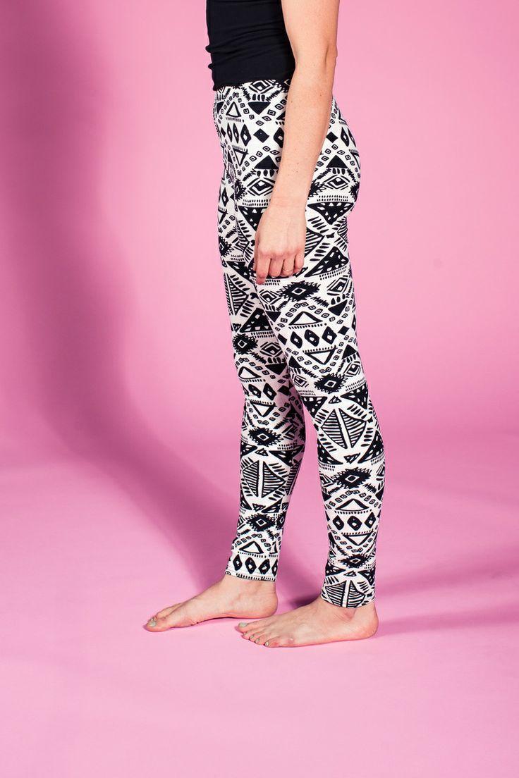 Lularoe tribal leggings  Id wear that  Pinterest