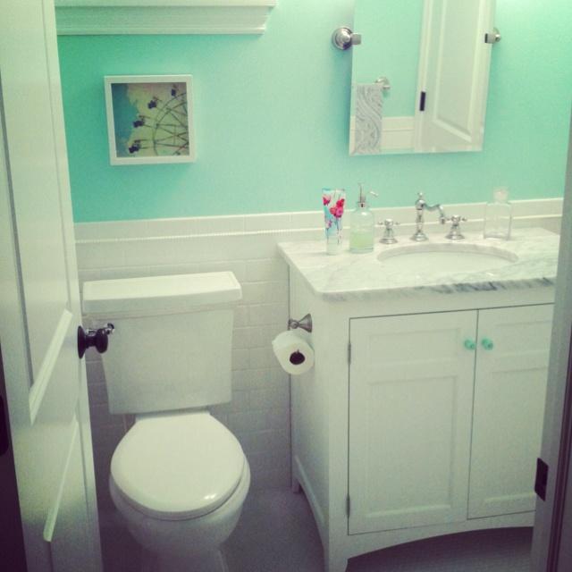 Mint green bathroom  Alexs house ideas   Pinterest